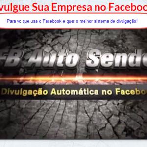 DIVULGADOR AUTOMÁTICO PARA FACEBOOK - FBAuto Sender7